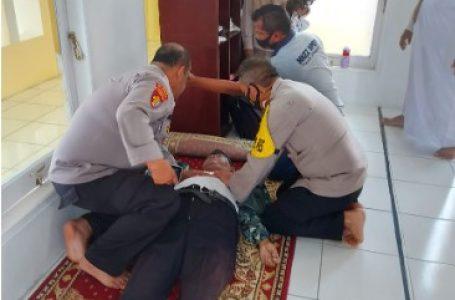 Ustad H Amirrudin Damanik Pengurus Masjid Nur Hidayah Polres Simalungun Meninggal Dunia Usai Sholat Jum'at