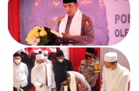 Kapolri Resmikan Ponpes Tajul Falah Banten
