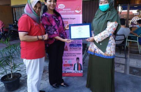 The Cafe SUMMIT Gandeng PMI Kota Medan Gelar Donor Darah