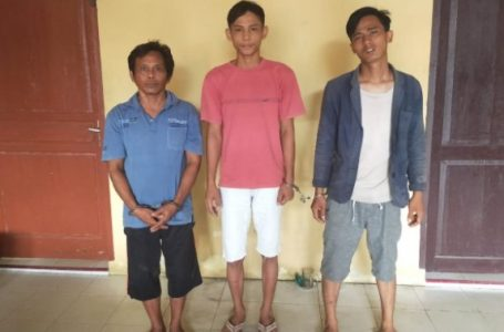 3 Pencuri di Pasar Rakyat Pantai Cermin Ditangkap Polisi