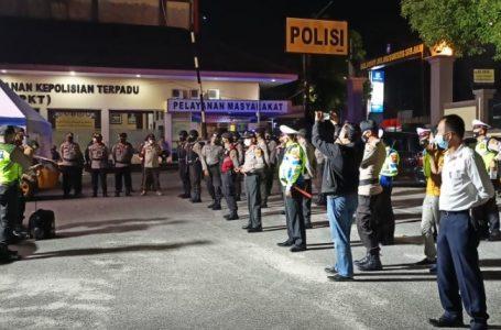 Polresta Pekanbaru Patroli KRYD di Lokasi Keramaian