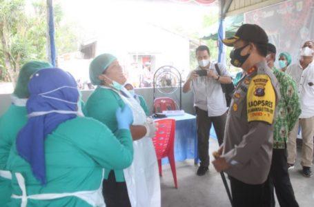 Polres Sergai Fasilitasi dan Mobilisasi Vaksinasi Covid-19 ke Lansia
