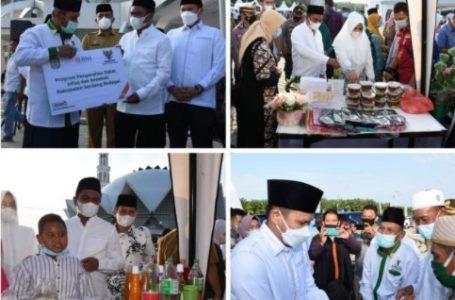 Bupati Darma Wijaya Resmikan Kampung Ramadan Sergai