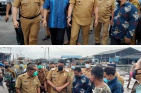 Wali Kota Medan Tinjau Laporan Masyarakat Terkait Aktifitas Pelanggaran Penangkapan ikan dengan Pukat Trawl di Perairan Belawan