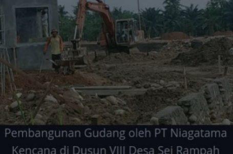 Dinas Lingkungan Hidup Sergai Cek Izin UKL-UPL Pembangunan Gudang PT Niagatama Kencana
