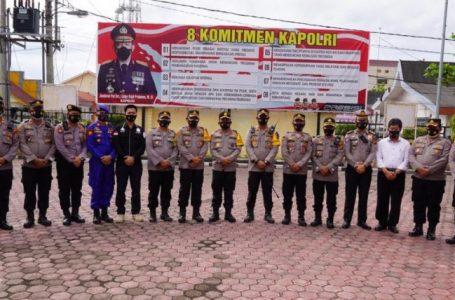Kunjungi Polres Tanjung Balai, Kapolda Sumut Dukung Penyidik KPK Berantas Kasus Korupsi di Kantor Pemko Tanjung Balai