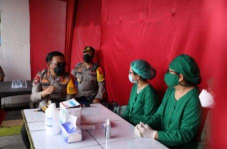 Kapolda Sumut Tinjau Pos PAM Simpang Dua Pematang Siantar