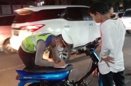 Satlantas Polrestabes Medan Amankan 59 Sepeda Motor Knalpot Blong