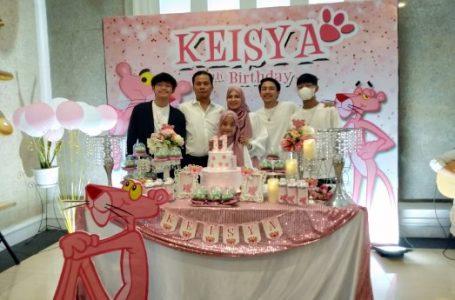 HUT Keisya ke-11, Yance Aswin: Semoga Menjadi Anak Sholeh & Berbakti Kepada Kedua Orangtua