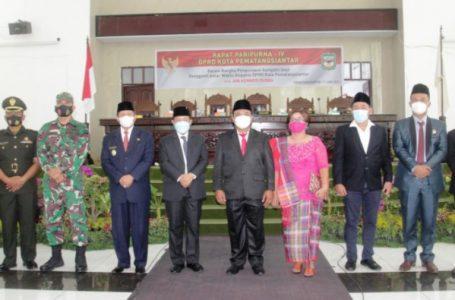 Wakil Wali Kota Siantar Hadiri PAW Anggota DPRD