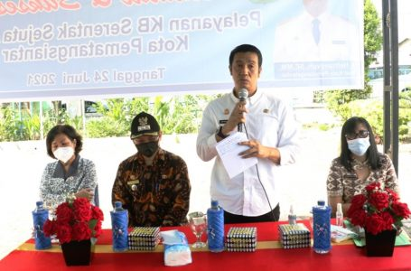 Wali Kota P. Siantar Targetkan 300-400 Akseptor Khusus Pelayanan KB Implan dan IUD Tahun 2021