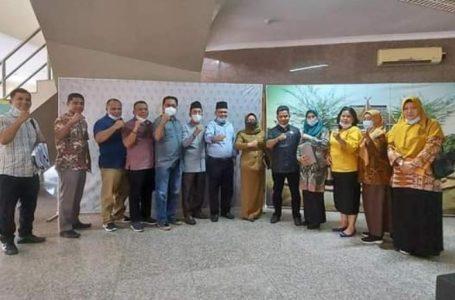 Diskominfo Dampingi Tim Pansus DPRD Labuhanbatu Konsultasi ke Kab. Kampar-Riau