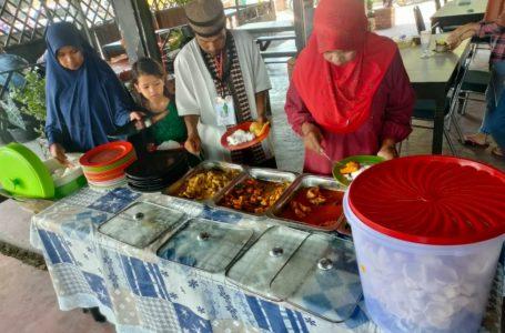Jumat Barokah Satreskrim Polres Kampar, Makan Siang Diantar ke Panti Asuhan