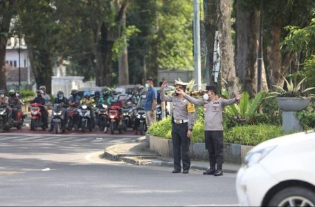 Traffic Light di Jalan Juanda Padam, Kapolda Sumut Turun Tangan Urai Kemacetan