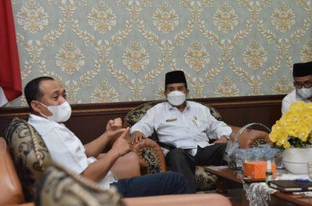 Bupati Batubara Kunjungan Audiensi ke Kakanwil Kemenag Provsu
