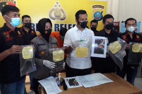 Polsek Patumbak Tembak Tiga Tersangka Pembunuhan di Marindal