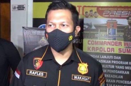 Polrestabes Medan Ringkus 4 Pelaku Penyiraman Air Keras Terhadap Wartawan