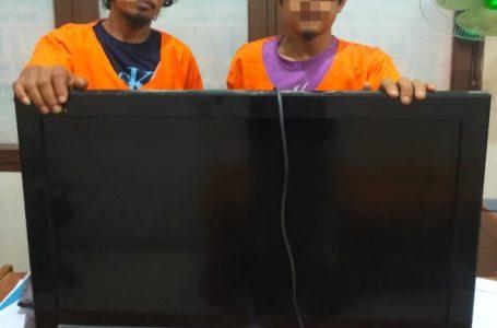 2 Pencuri di Toko Ponsel Ditangkap Polsek Kampar Kiri Hilir