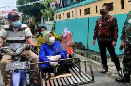 Tim Swab Siantar Barat Blusukan ke Kelurahan Naik Betor