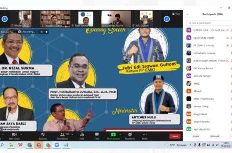 PP GMKI Gelar Webinar Internasional, Dampak Krisis Afghanistan Terhadap Stabilitas Politik dan Keamanan Indonesia