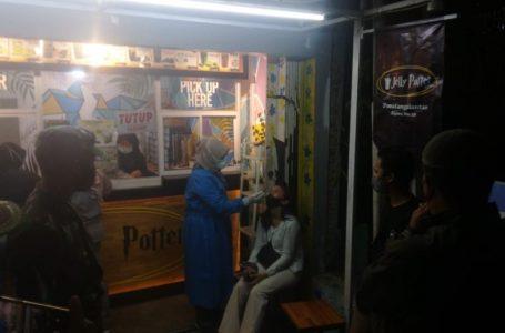 Camat Siantar Barat Kembali Tindak Cafe Abaikan Prokes dan Melanggar Waktu Operasional