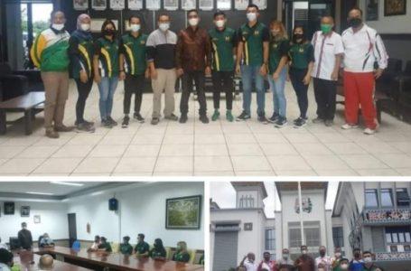 Wakil Bupati Karo Lepas Kontingen Atlet PON XX ke Papua