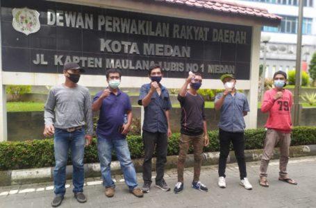 Karyawan PT API Sambangi DPRD Medan, Tuntut Perusahaan Mereka Dibuka Kembali