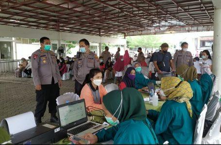 Plt Kabag Sumda Polrestabes Medan Cek Vaksin Pertama di PRSU Medan Helvetia