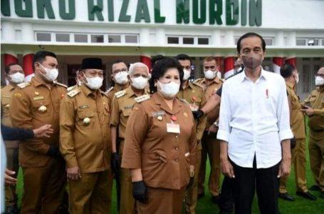 Usai Hadiri Kunker Presiden Jokowi, Bupati Karo Akan Dorong Vaksinasi Sampai ke Tingkat Desa