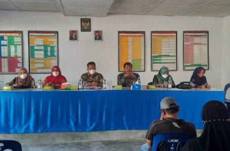 Camat Kisaran Barat Pimpin Rapat Kordinasi di 2 Kelurahan