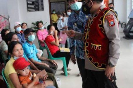 Kunjungi Pulau Terpencil di Kecamatan Tello, Kapolda Sumut Pastikan Akselerasi Vaksinasi Sesuai Target