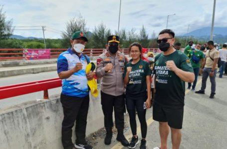 Terbang ke Papua, Irjen Panca Semangati Atlet Sumut Raih Juara PON 2021
