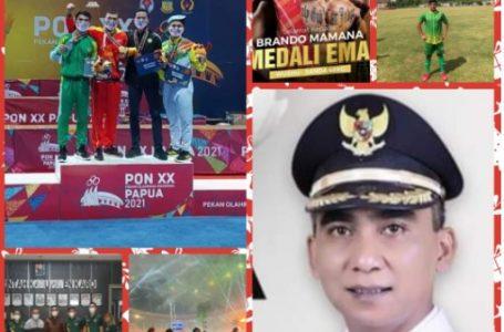 Sumut Peringkat 8, Wakil Bupati Ucapkan Selamat Bagi Atlit Peraih Medali dari Tanah Karo