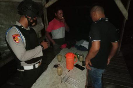 Tim Tembak Polres Kampar Tertibkan Warung dan Kafe Penjual Miras Tanpa Izin