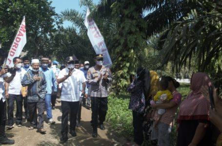 Resmikan Jalan dan Bendungan di Dolok Masihul, Bupati Sergai Imbau Masyarakat Rawat Hasil Pembangunan