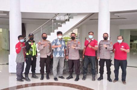 Beri Motivasi Petugas Pengamanan, Dirpamobvit Polda Banten Kunjungi Objek Vital di PT. Cemindo Gemilang