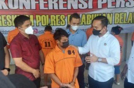 Bajing Loncat Viral di Medsos Ditangkap Polres Pelabuhan Belawan