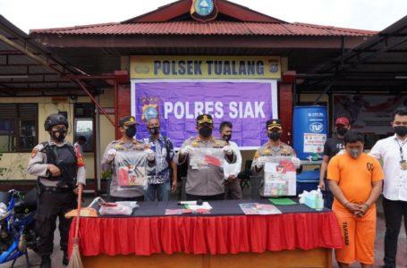 Dalam Waktu Singkat, Polsek Tualang Polres Siak Berhasil Ungkap Pelaku Pembunuhan
