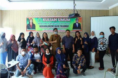 Kadis Kominfo Labuhanbatu Berikan Kuliah Umum di ULB